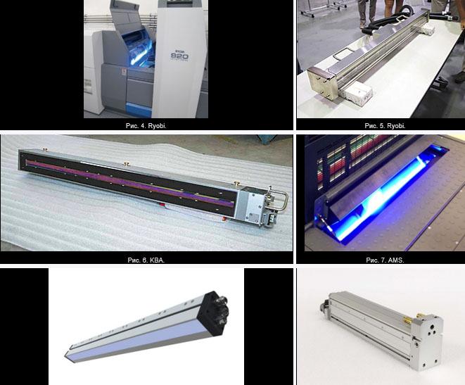 LED UV система для полиграфии