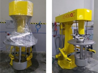 Новое оборудование для производства матовых УФ-лаков на заводе Baltink